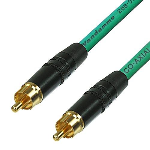 SPDIF - Cable coaxial de Audio y vídeo Digital RCA a RCA...
