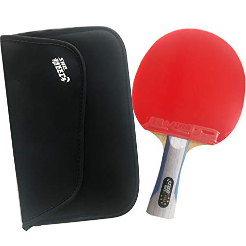 Fantastic Prices! DHS 6002 FL Table Tennis Racket with a Paddle Bag