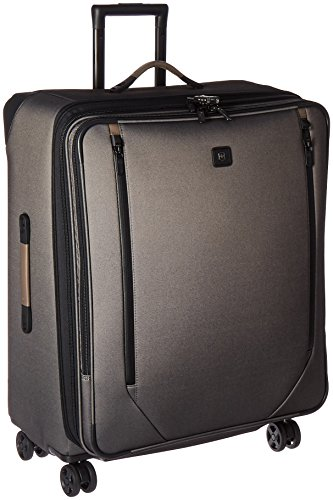 Victorinox Lexicon 2.0 Softside Expandable Spinner Luggage, Gray, Checked-Large (28')