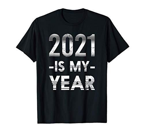 2021 Fiesta Del Confeti Feliz Año Nuevo Regalo Nochevieja Camiseta