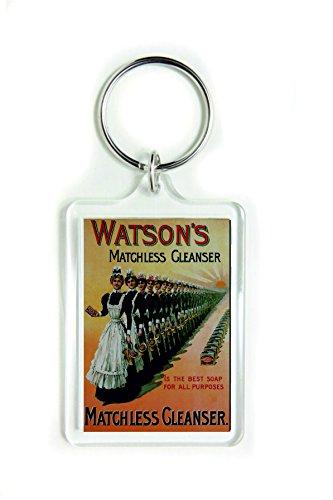 Watson's matchless cleanser is de beste zeep voor alle doeleinden acryl sleutelhanger