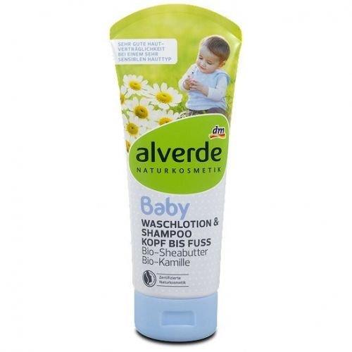 Alverde–Baby Shampoo und Duschgel 2in 1–Baby–200ml