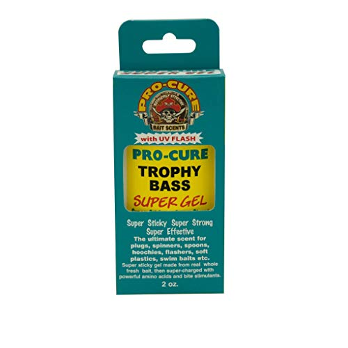 Pro-Cure Trophy Bass Super Gel, 2 Ounce
