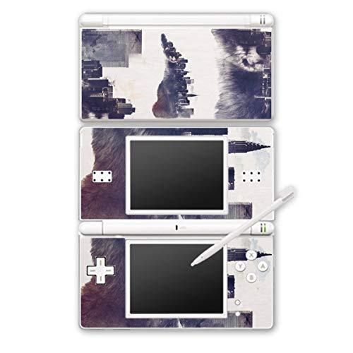 DeinDesign Skin kompatibel mit Nintendo DS Lite Folie Sticker Stadt Sonnenbrille Art