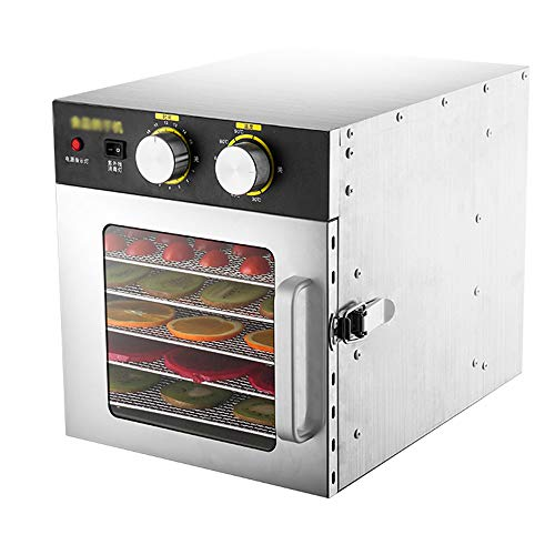 Why Choose CJSWT Commercial Stainless Steel Food Dehydrator,Raw Food & Jerky Fruit Dehydrator- 500W ...
