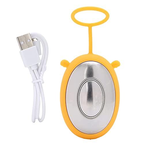 Appareil D'aide au Sommeil, Instrument D'aide au Sommeil à Micro-courant pour L'insomnie et L'anxiété, Sommeil Rapide(jaune)