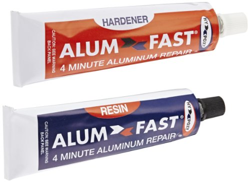Hy-Poxy H-455 Alumfast 6.5 oz Rapid Cure Aluminum Putty Repair Kit