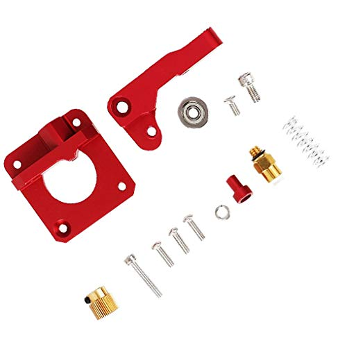 heacker Replacement for Creality Ender 3 Extruder Aluminum MK8 Drive Feed 3D Printer Extruders Upgrade Kit
