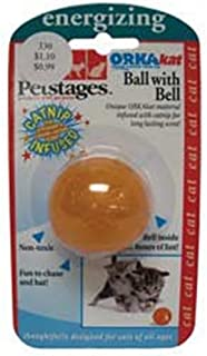 PetStages Orka Kat Catnip Infused Ball Cat Toy
