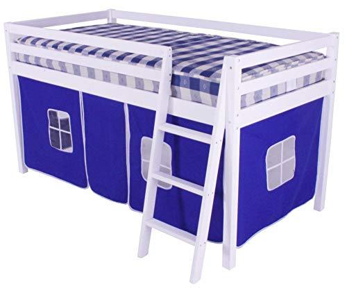 Hls - Tienda de campaña para litera de Cabina, Color Azul