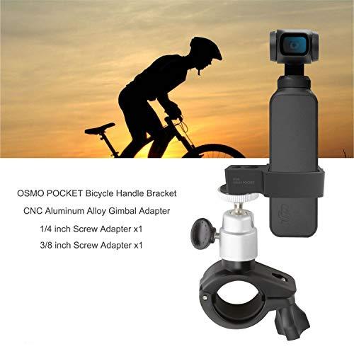 Rantow 360 ° drehbare Fahrradhalterung für Motorradlenker, Halterung für Lenker, Stabilisator, kompatibel mit DJI Osmo Pocket