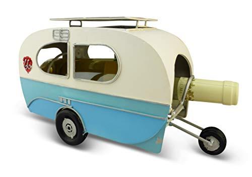 Solinga Deko Wohnwagen Flaschenhalter für Weinflaschen Geschenke für Camper und Wohnmobilbesitzer Camping Geschenk