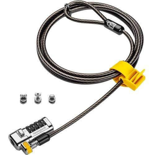Find Discount Kensington ClickSafe Universal Combination Laptop Lock - Master Coded - Carbon Steel, ...