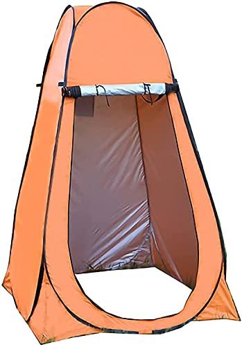 Carpa de baño portátil impermeable para acampar Tienda emergente Portátil Portátil Privacidad Refugio Tienda Camping Alojamiento Tienda Pop-Up Privacidad Ducha Tienda Playa Tienda Vestido Al Aire Libr