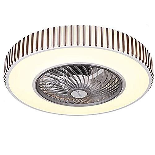 Moderna Lámpara De Ventilador De Techo 53Cm Mando A Distancia,Regulable,Diseño Creativo De Piano Invisible Silencioso Lámpara De Techo Oficina,Hotel,Ceiling Fan Light B,110v