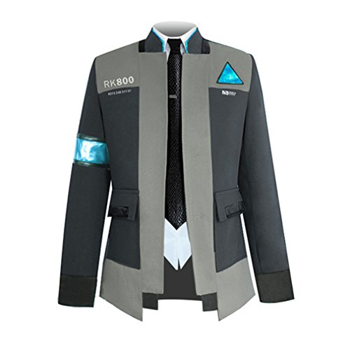 Detroit Become Human Connor Jacket Suit Halloween Cosplay Costume