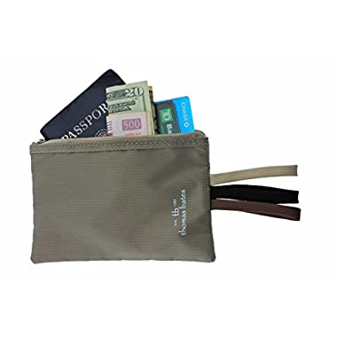 RFID Secure Travel Money & Passport Nomad Wallet by Thomas Bates