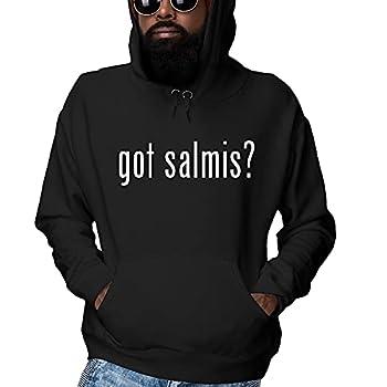 got salmis? - Men s Ultra Soft Hoodie Sweatshirt Black XXX-Large