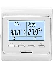 Mainstayae قوة كبيرة ذكية التحكم في درجة الحرارة الرطوبة نظام الترموستات الدورات الأسبوعية المضادة للاشتعال مادة الإسكان PC