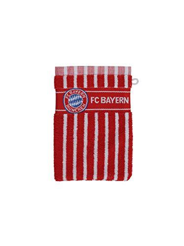 FC Bayern München Waschhandschuh, rot/weiß