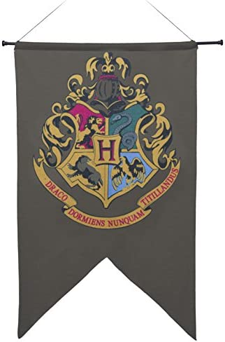 Harry Potter Hogwart's Printed Wall Banner, 20 x 30-Inches