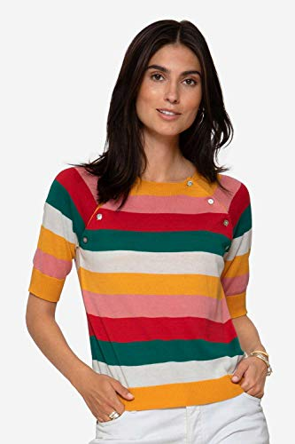 Milker Elin - Pull d'allaitement Multicolor eco Coton Taille S