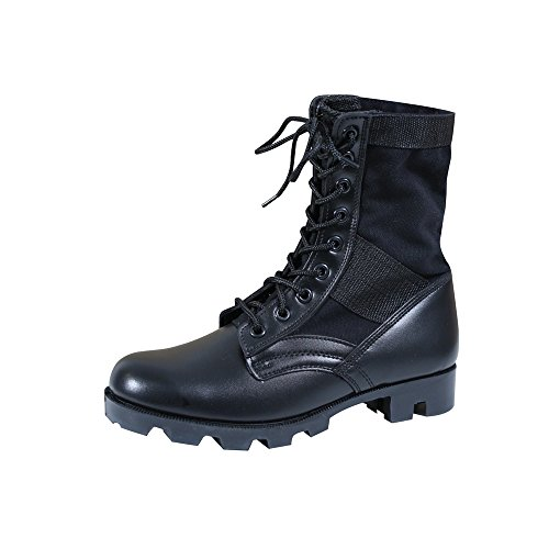Rothco Mens G.I. Style Jungle Boots, Black, 10 Wide