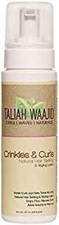 Taliah Waajid Black Earth Products Crinkles and Curls Natural Hair and Loc Styling Lotion, 8 Ounce