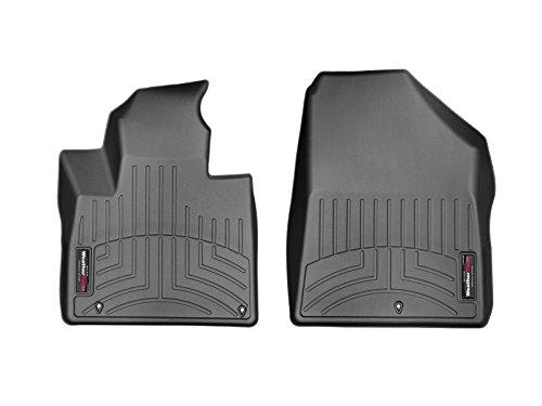 WeatherTech Passgenaue Fußmatten gummimatten passend für: Kia Sorento 3.Gen Automatik 2015-18 Schwarz 1. Reihe FloorLiner