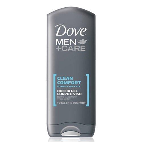 Dove Men Clean Comfort douchegel, lichaams- en gezichtswater, 250 ml, 3 stuks