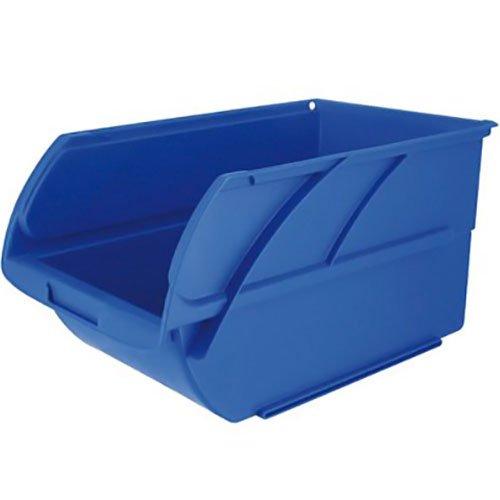 Stanley 056300-015 opbergdoos, open, 4 liter, blauw, 14,6 x 23,8 x 12,7 cm