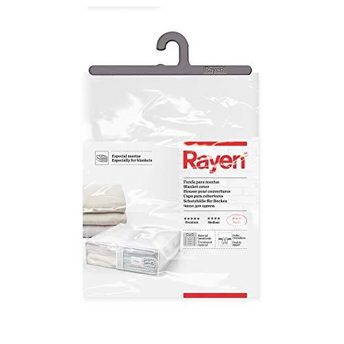Rayen 2033.01 Aufbewahrungshülle für Bettdecken, Daunen, 65 x 55 x 20 cm, Grau