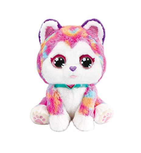 Vtech Hope The Rainbow Husky, Interaktives Plüschtier für Kinder, Weiches Plüschspielzeug für sensorisches Spielen, Niedlicher Hund Plüschspielzeug für Mädchen und Jungen ab 3 Jahren