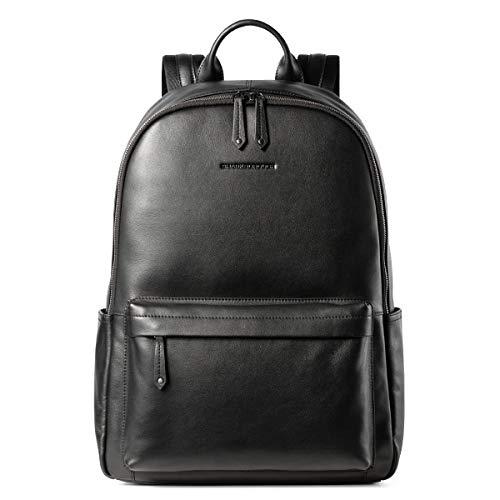 Sharkborough Supreme Anton Lite Men's Backpack Genuine Leather Travel Bag Extra Capacity Casual Daypacks