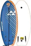 Waimea Tabla de Surf Espuma EPS 114 cm Azul Petróleo 52WZ-BLO-Uni Deporte Mar