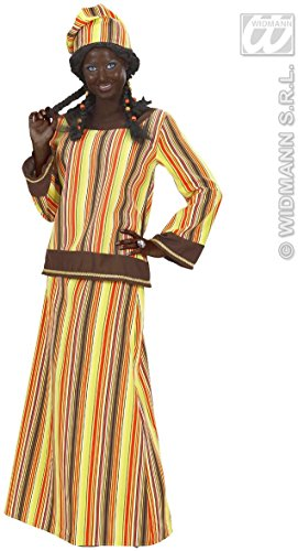 WIDMANN Desconocido Disfraz de africana para mujer