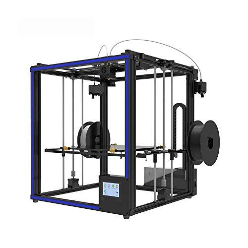 Imprimantes 3D, Haute précision et de grande taille de bureau de grande taille Imprimante 3D avec fonction d'impression CV Home Office à double usage imprimante noir 65.8x63x65.9cm Imprimante Home Off
