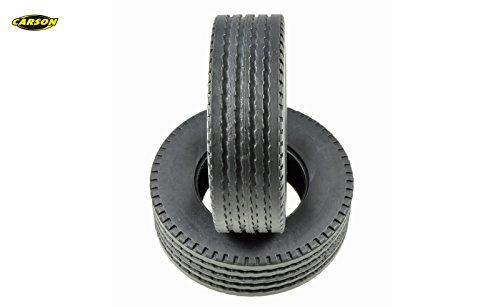 Carson Modellsport 1:14 LKW, LKW-Auflieger Reifen 27 mm Straßenprofil 1 Paar