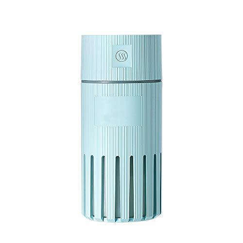 Humidificador con coloridas luces nocturnas, difusor de aroma eléctrico y humidificador, apagado automático sin agua, azul