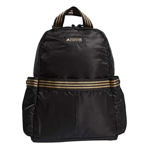 adidas Damen VFA Rucksack, Damen, Rucksack, Vfa Backpack, Schwarz-Gold Leurex, Einheitsgröße