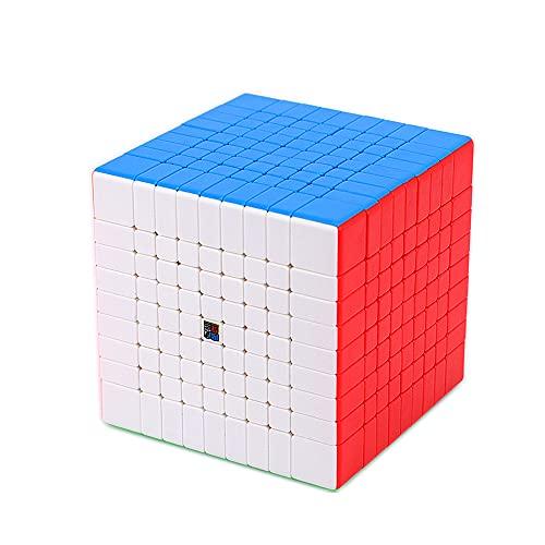 LiangCuber Moyu Meilong 9X9 Magic Cube stickerless Meilong Speed Cube 9x9 Puzzle Cubes 9x9x9 MF9