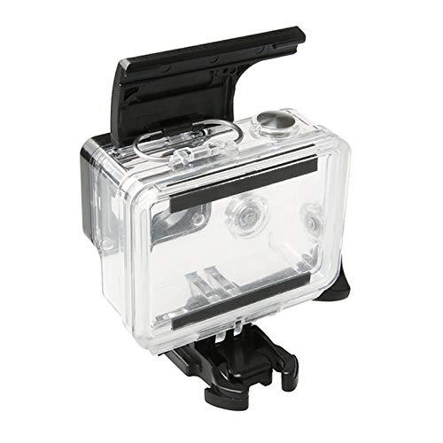 Yaolan Boîtier de caméra étanche Shell pour Gopro HERO4 / 3 Sports Action caméra étanche de boîtier ABS en Plastique Porte arrière Clip verrou