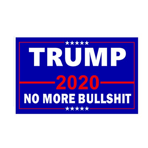 Fenical Trump 2020 Präsidentschaftswahl Fahne Propaganda Keep American Great Slogan Supply 150x90cm