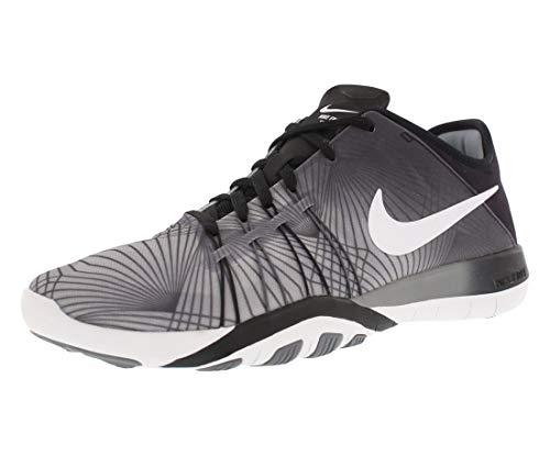 Nike WMNS Free tr 6 PRT - Hiking Schuhe, Damen, Farbe Schwarz (Black/White-cool Grey), Größe 36