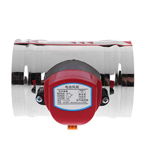 BELTI 4'220V AC Acero Inoxidable Electroválvula Amortiguador Agua hermética Vapor