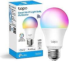 TP-Link tapo l530e slimme WiFi-Ledlamp e27, meerkleurig, 8,7 w, geen hub nodig, compatibel met Alexa, Google assistant,...