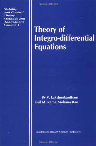 Theory of Integro-Differential Equations