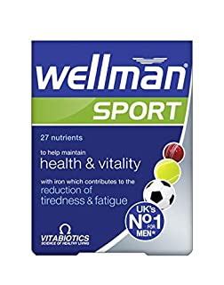 Vitabiotics Wellman Sport - 30 Tablets (B002F5GO5S) | Amazon price tracker / tracking, Amazon price history charts, Amazon price watches, Amazon price drop alerts