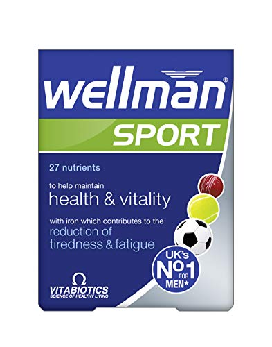 Vitabiotics Wellman Sport, 30 Tablets