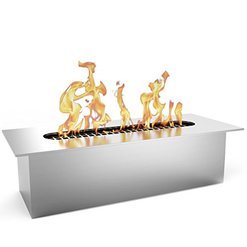 Regal Flame Slim 8 Inch Bio Ethanol Fireplace Burner Insert .5 Liter. All Types of Indoor, Gas Inserts, Ventless & Vent Free, Electric, or Outdoor Fireplaces & Fire Pits.